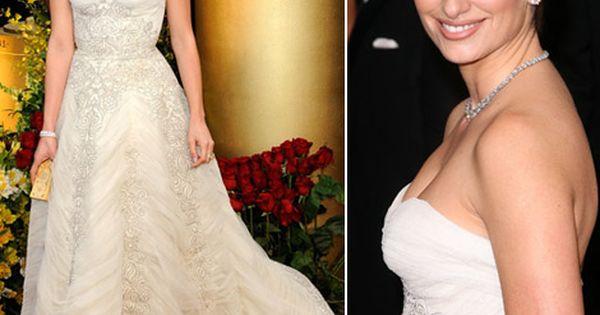 Penélope Cruz in vintage Balmain (Oscars 2009) | Red ... Penelope Cruz