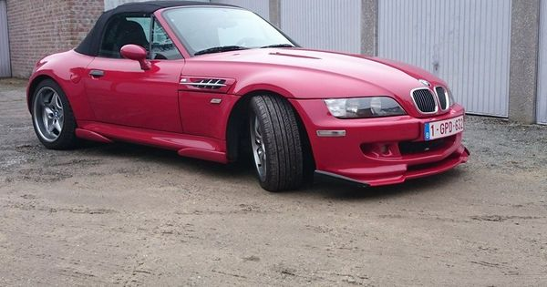 bmw z3 m roadster red with hamann body kit bmw z3. Black Bedroom Furniture Sets. Home Design Ideas