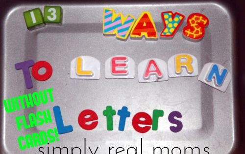 Beyond ABC's~13 Beginning Reading Strategies | Simply Real Moms