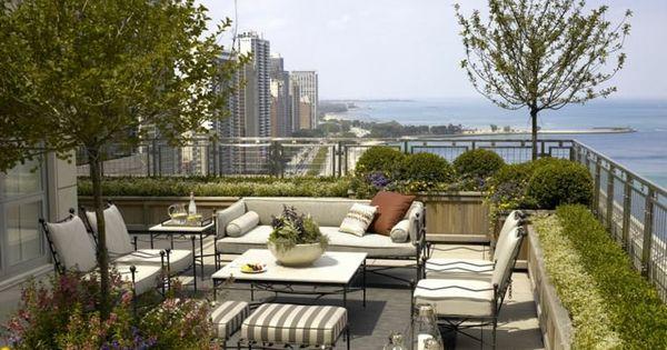 Jardin et terrasse en ville 75 id es pour jardin sur le for Les terrasses en ville