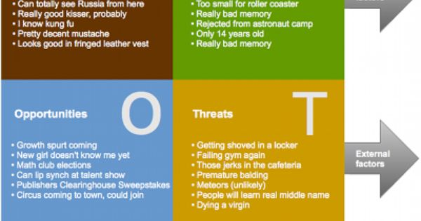 swot analysis example  swot example