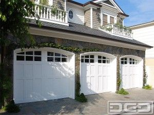 Cottage Style Exterior Doors Traditional Garage Door Is The Most Common Garage Door Because Of Cottage House Exterior Garage Doors Coastal Cottage