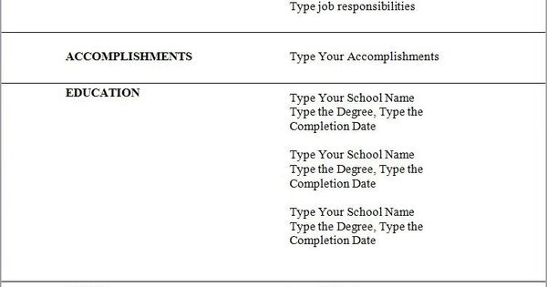 students first job resume sample