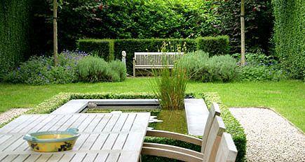 Tuinarchitect tuinontwerp moderne eigentijdse stadstuin met - Eigentijdse tuinarchitectuur ...