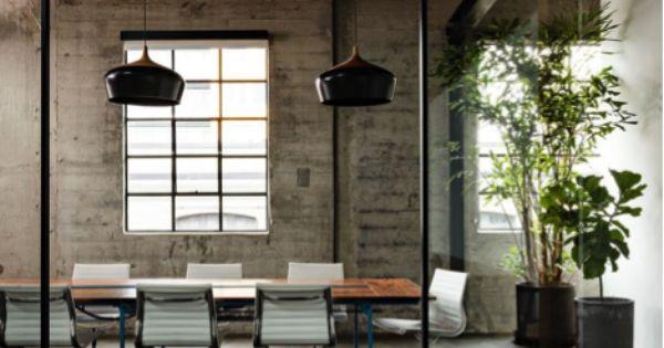 Moderne kantoorinrichting office space pinterest moderne kantoorinrichting - Kantoor decoratie ideeen ...