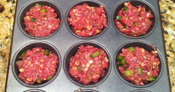 "Meatloaf muffins . Often you worry about if it is ""done"" in"