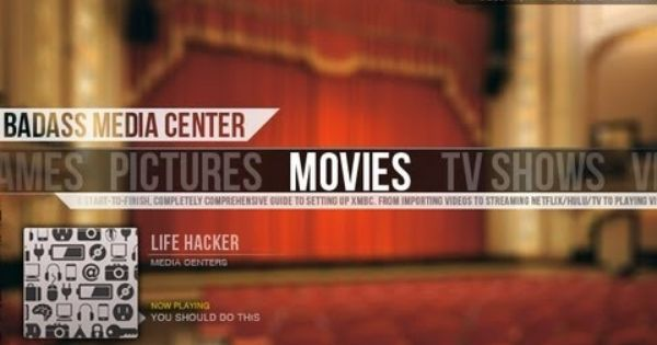 Create A Kickass Seamless Play Everything Media Center With Xbmc The Complete Guide Media Center Xbmc Media Center Home Theater