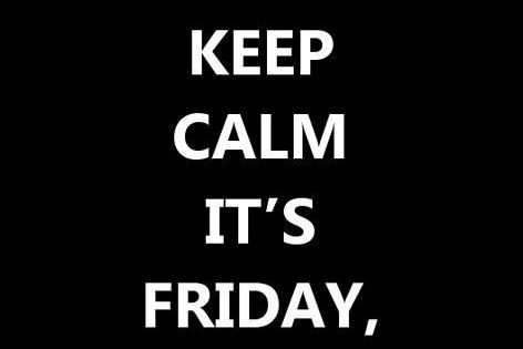 Happy Last Friday of 2012! Make it a good one! lastfridayof2012 2012