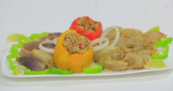 Cbc Sofra طريقة عمل محشي بصل نجلاء الشرشابي Recipe Recipes Food Shrimp