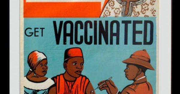 Smallpox vaccine poster
