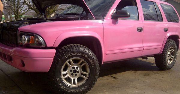 Clean 2003 Pink Dodge Durango My Project Truck Auto