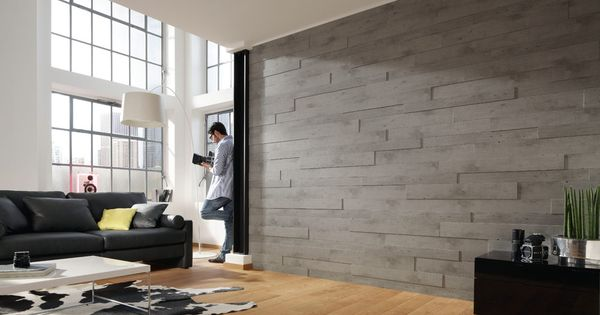 MEISTER Real Wood Wall Systems - Concrete/ cheaper than stone ...