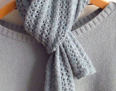 Lace Knitting Pattern Library : Little Cotton Rabbits knitting blog Pattern is Little Leaf ...