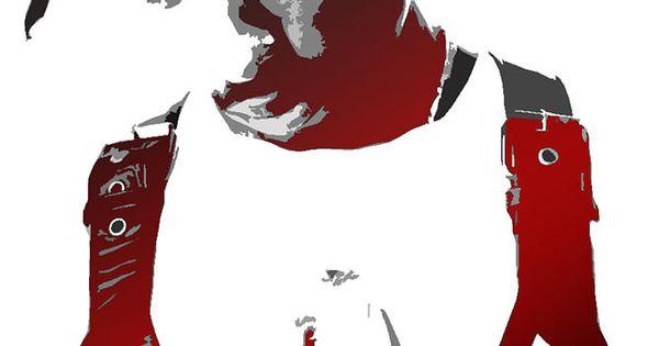 Tupac Stencil Picture