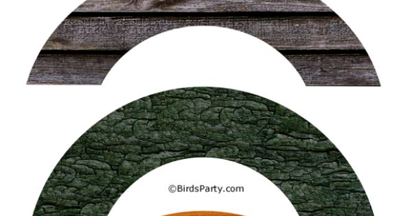 Free party printables party printables cupcake and wood for Giant cupcake liner template