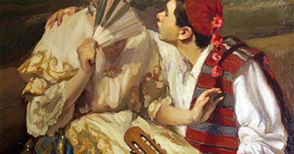 Valencianas pintadas felipe santamans valencianas - Pintor valenciano ...