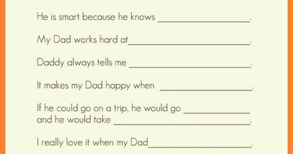 Father's Day - Hilarious what kids say (even older kids). fathersday