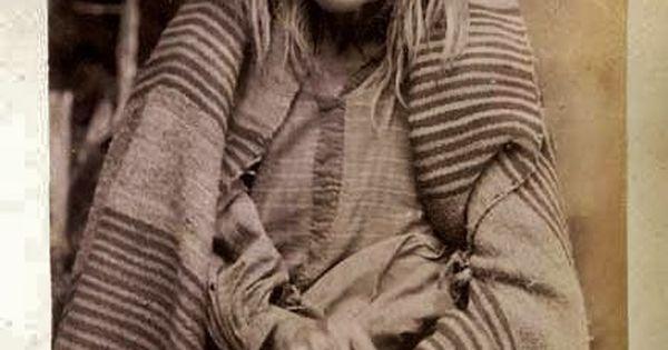 Mescalero Apache woman taken in 1888