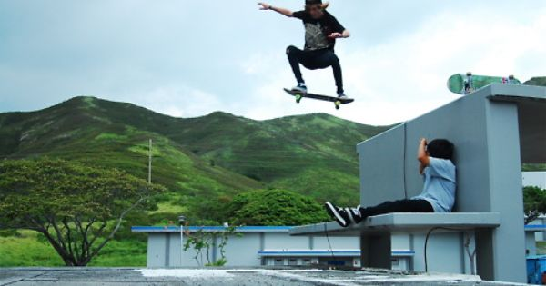 Olli Off The Roof Gap Skateboard Photography Photography Skateboard