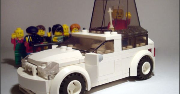Lego Popemobile Lego Pope Catholic Kids Crafts Catholic Kids