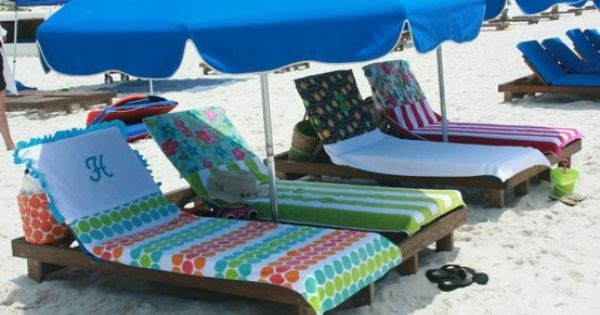 Beach Towels That Won T Slide Down Your Chair Because The
