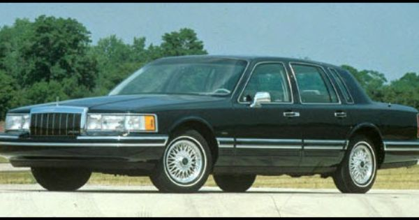 1991 Lincoln Town Car Lincoln Town Car Lincoln Cars Lincoln Motor