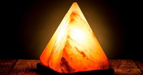 Salt Lamp Benefits Proof : The flaming Pyramid Himalayan salt lamp http://himalayansaltlamp.org/pyramid-himalayan-salt-lamp ...