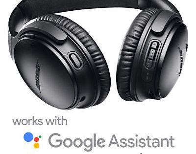Bose Quietcomfort 35 Ii Qc35 Ii Headphones Black Refurbished By Bose Warranty Wireless Noise Cancelling Headphones Headphones Black Headphones