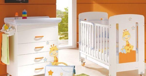 Fotos muebles cunas coloridas para bebes dormitorios - Diseno de habitaciones infantiles ...