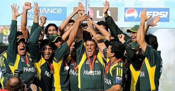 Pakistan Won The T20 World Cup In 2009 World Cup Winners World Cup World