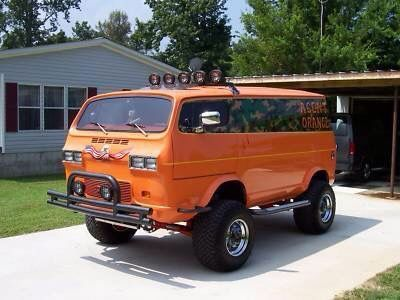 4x4 Van Picture Gallery 73 - Thunders Garage | Cool vans, Custom vans, Van