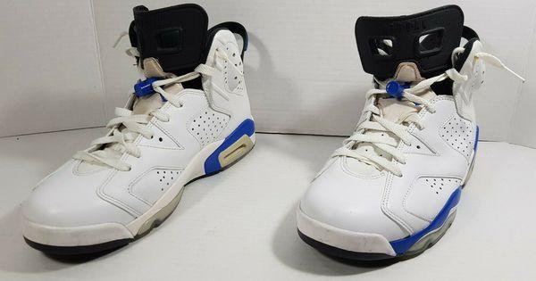 Details About Nike Air Jordan Vi 6 Retro Men S Sport Shoes White