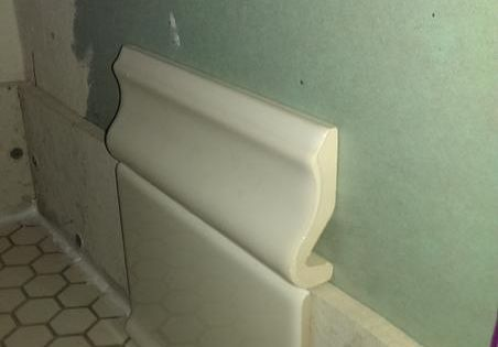 Need Help With Quot Baseboard Quot Tiles Not Cove Caulk