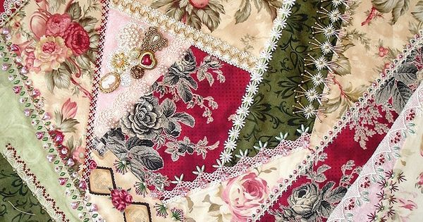 I ❤ crazy quilting . . . Crazy Patch Seam Treatments and