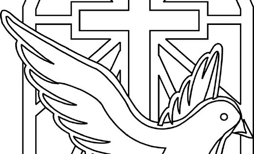 Holy Spirit Coloring Pages - CatholicMom