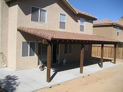permanent roof to your patio cover