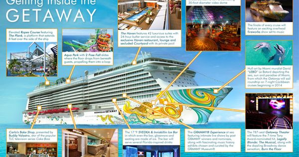 Ncl norwegian getaway cruise ship reviews pictures for Getaway deck plans