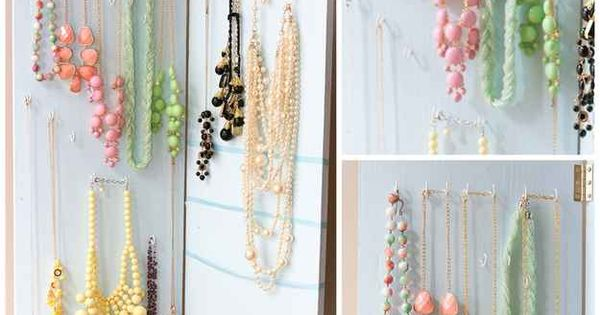 Hinged 25 clever diy ways to keep your jewelry organized next step attach it to a wall in - Clever diy ways keep jewelry organized ...