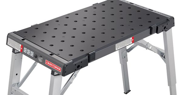 Portable Peg Clamping Workbench Sears Workbench Portable Workbench Craftsman