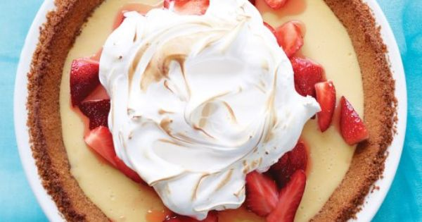 Icebox pie, Pies and Strawberries on Pinterest