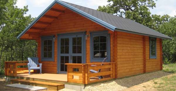 This Cute Tiny Log Cabin Kit Can Be Built In 2 Days For Under 20k Buy A Tiny House Prefab Cabins Best Tiny House
