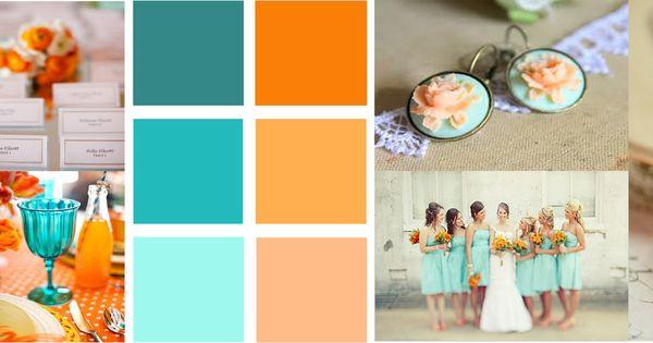 Burnt Orange Teal With Peach Aqua Kitchen Pinterest Teal Aqua And Orange Accent Walls