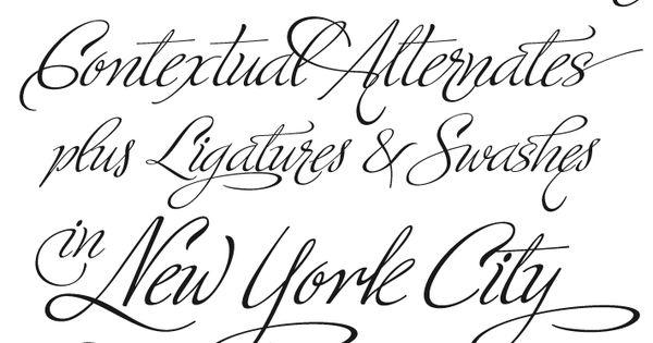 tattoo script font - ministry script
