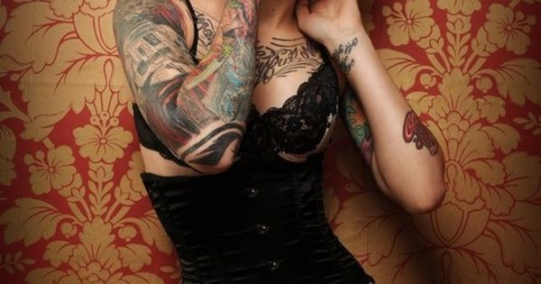 #tattoo women ink beauty sexy