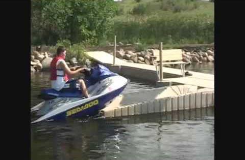 Shoremaster Shoreport Floating Pwc Lift Dock Accents