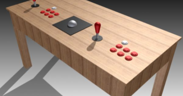 A Wireless Mame Coffee Table Controller Arcade Table Coffee