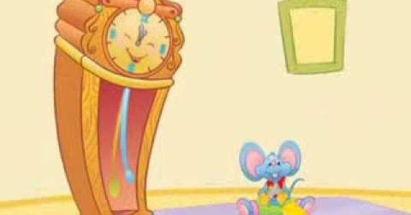 Hickory Dickory Dock English Nursery Rhymes Children Songs
