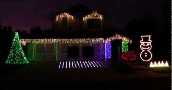 Pin Su Christmas Lights Outside Decor