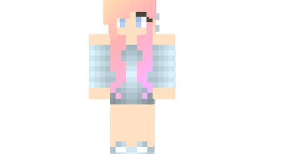 2 Ways To Install Early Sunrise Hair Skin Minecraft Girl Skins Http Niceminecraft Net Tag Girl Skins Girl With Pink Hair Minecraft Girl Skins Pink Hair