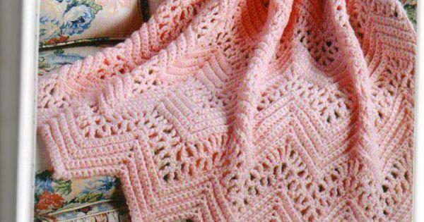 Victorian Lace Afghan Pattern Crochet Nice Pinterest